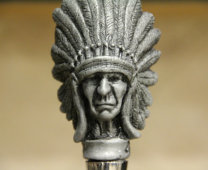 Indian Chief Wine Stopper