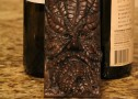 Greenman Floating Bottle Holder – Wood Finish