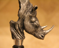 Rhinoceros Wine Stopper